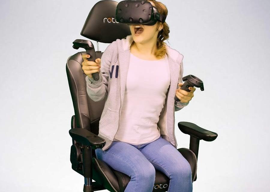 Passionné de réalité virtuelle ? Découvrez la chaise Roto VR