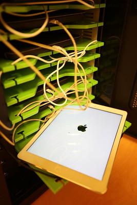 une tablette apple